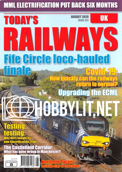 Today's Railways UK - August 2020