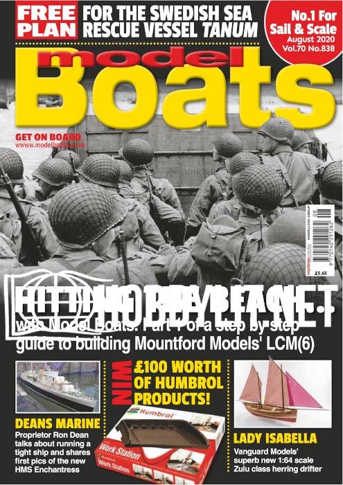 Model Boats - August 2020