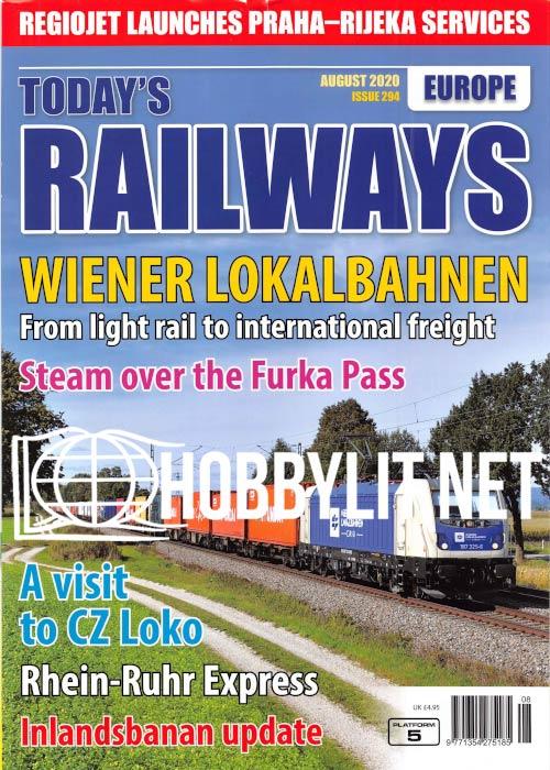 Today's Railways Europe - August 2020