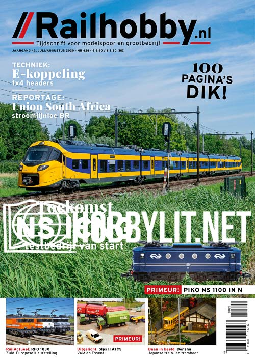 Railhobby - Juli/Augustus 2020