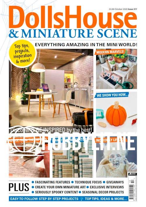 Dolls House & Miniature Scene - October 2020