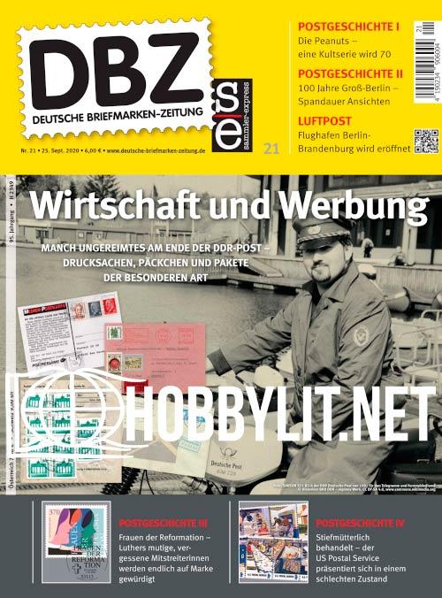 Deutsche Briefmarken-Zeitung - 25 September 2020