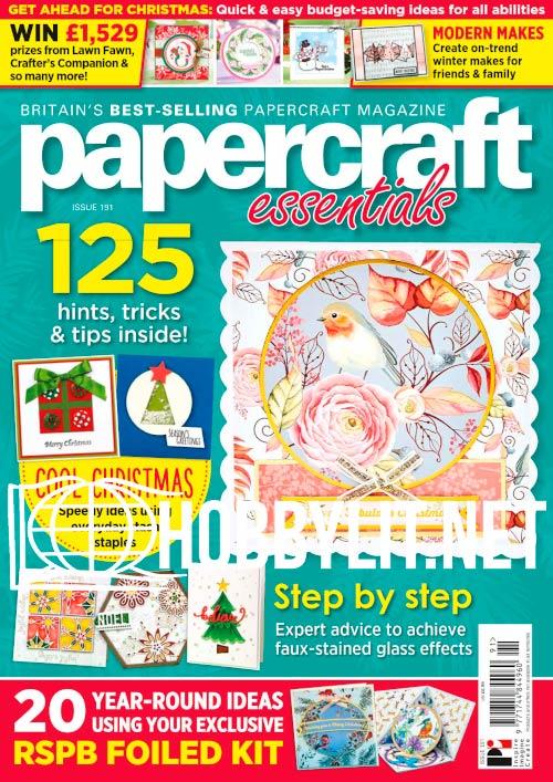 Papercraft Essentials Issue 191