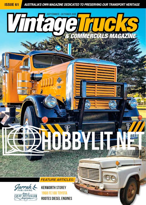 Vintage Trucks & Commercials - September-October 2020