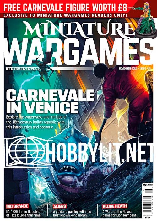 Miniature Wargames - November 2020
