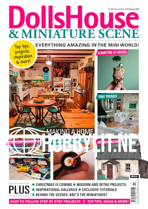 Dolls House & Miniature Scene - November 2020