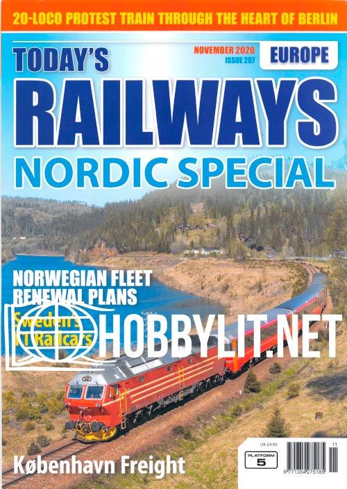 Today's Railways Europe - November 2020