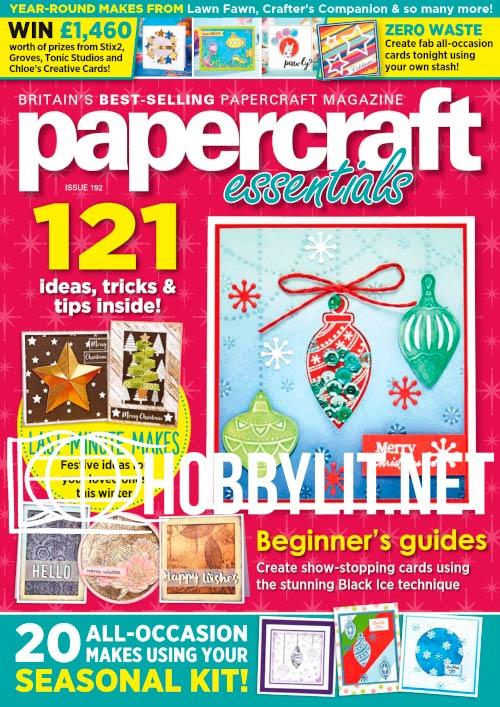 Papercraft Essentials - November 2020