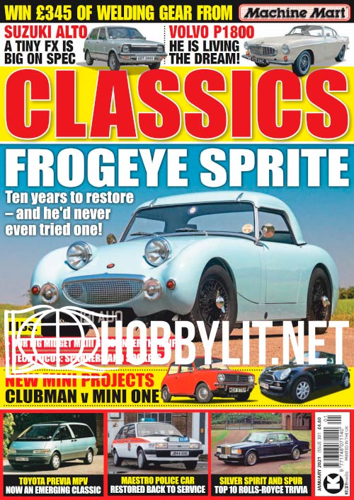 Classics Monthly - January 2021