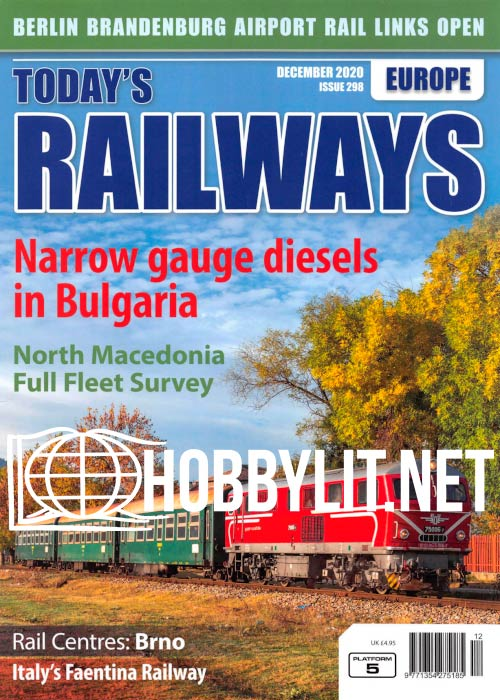 Today's Railways Europe - December 2020
