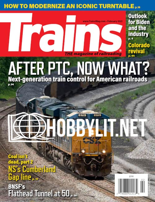 Trains - February 2021