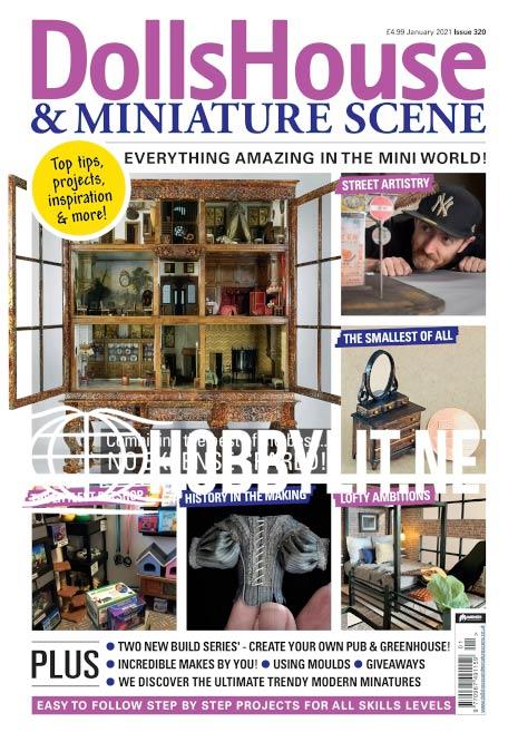 Dolls House & Miniature Scene - January 2021