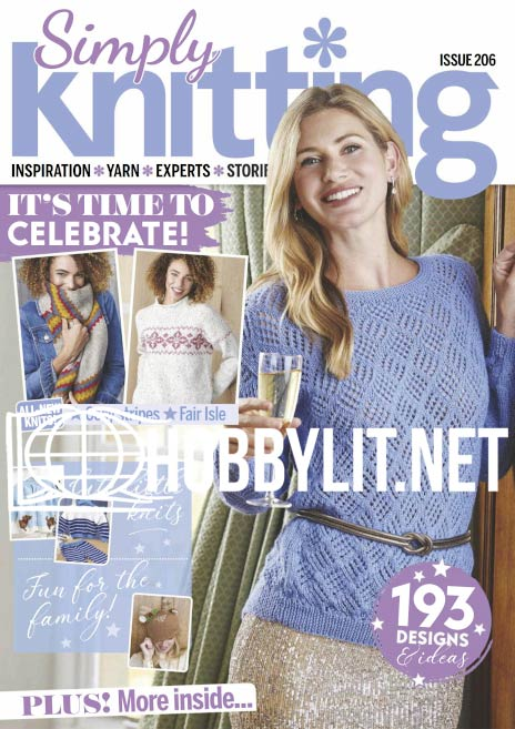 Simply Knitting Isssue 206