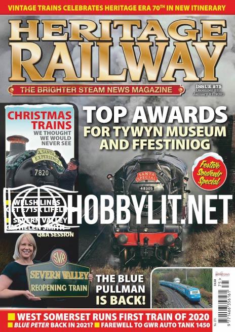 Heritage Railway 275 - 21 December 2020