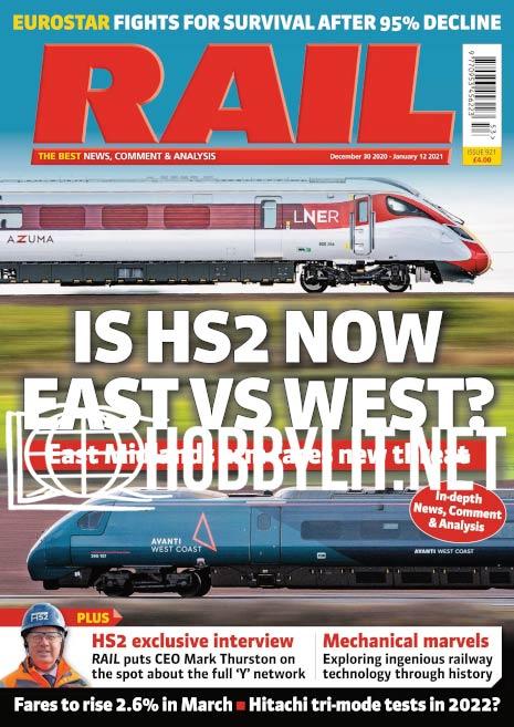 Rail – 30 December 2020