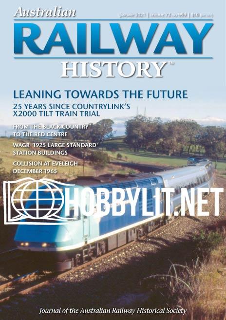 Australian Railway History - January 2021