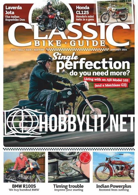 Classic Bike Guide - January 2021