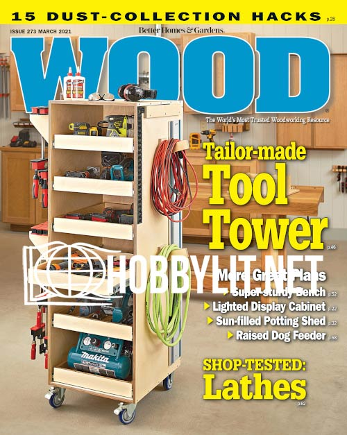 WOOD Magazine - March 2021