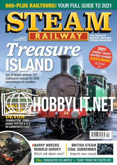 Steam Railway - 8 January 2021