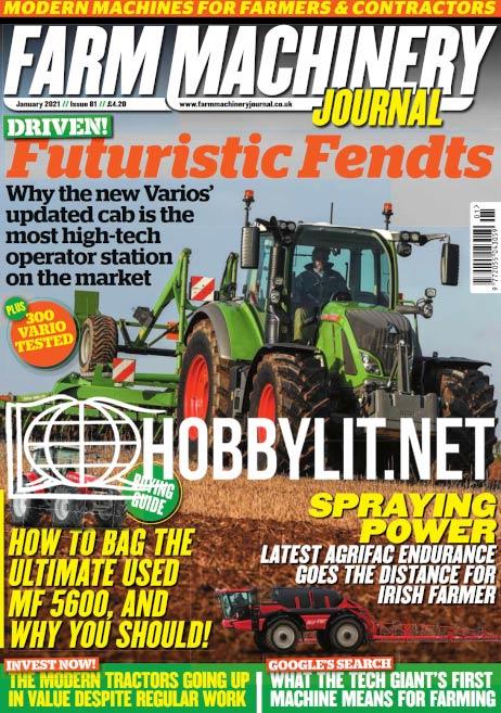 Farm Machinery Journal - January 2021