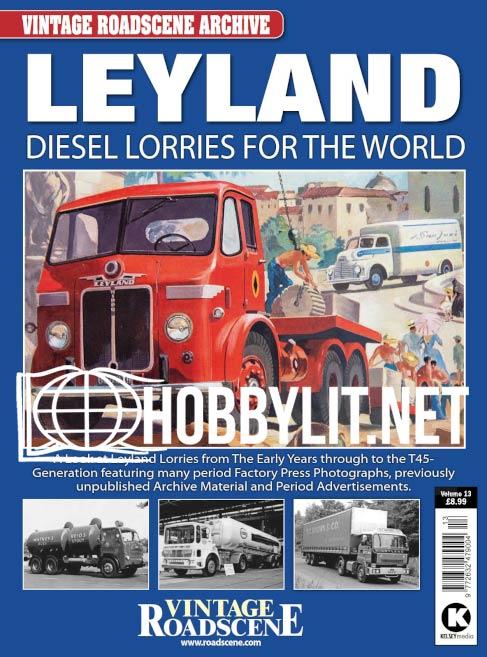 Vintage Roadscene Archive - Leyland Diesel Lorries for the World