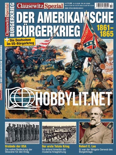 Clausewitz Spezial 32 - Der Amerikanische Bürgerkrieg