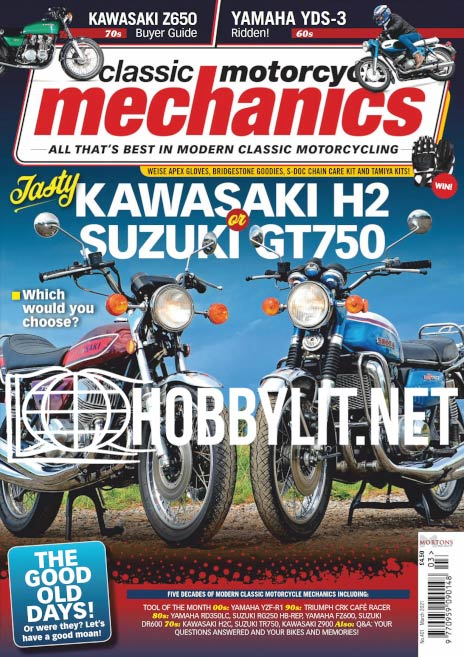 Classic Motorcycle Mechanics - March 2021