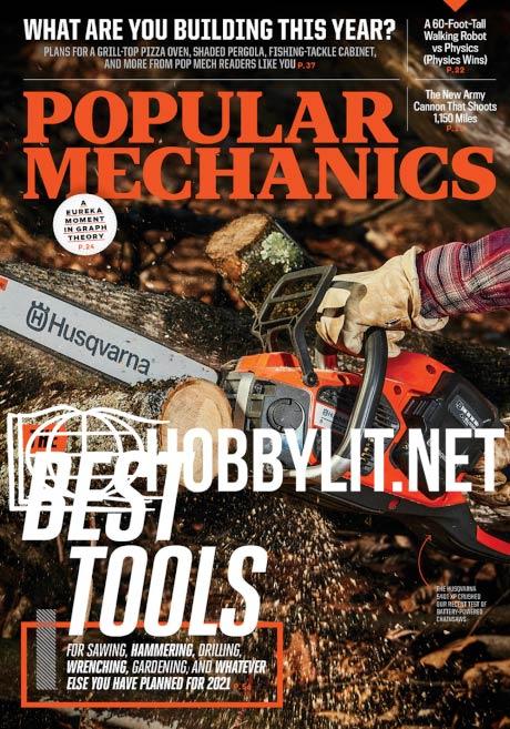 Popular Mechanics - March 2021