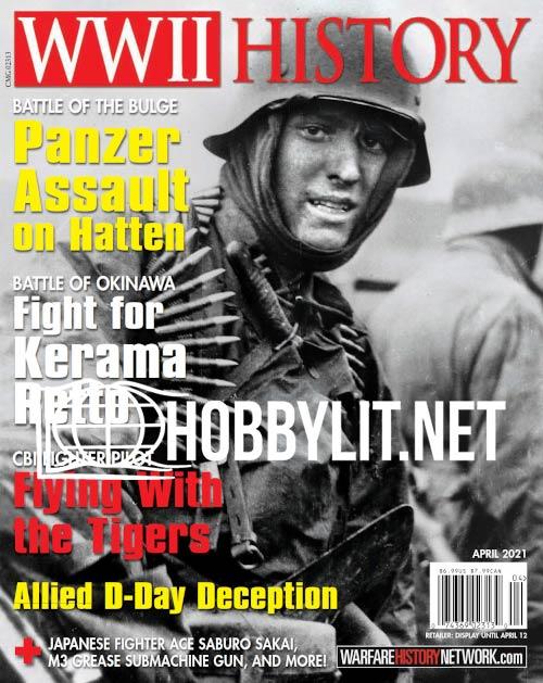 WWII History Magazine - April 2021