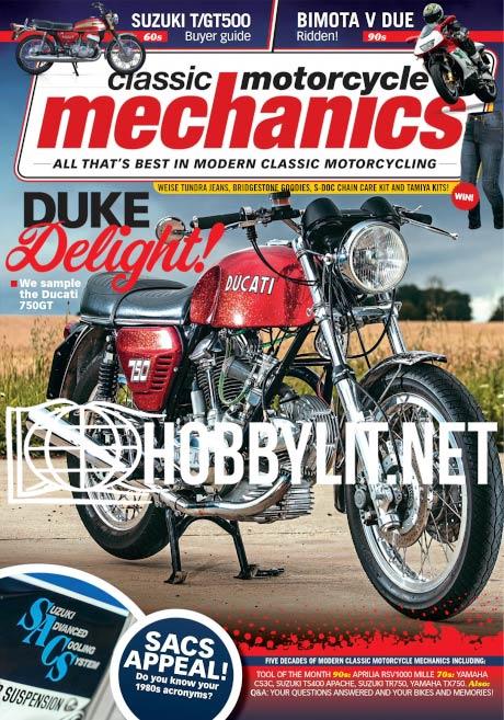 Classic Motorcycle Mechanics - April 2021