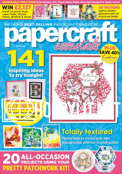 Papercraft Essentials Issue 195