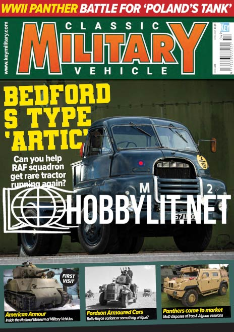 Classic Military Vehicle - April 2021