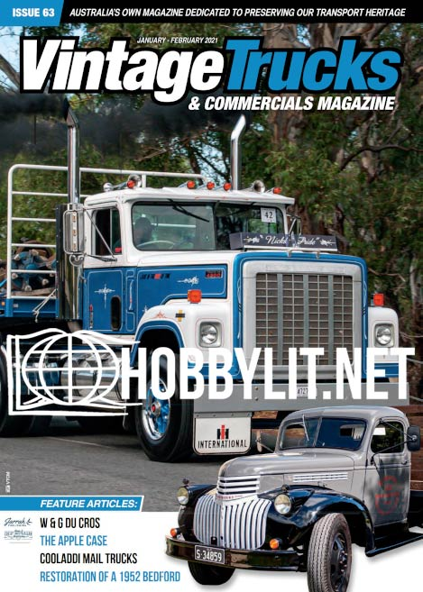 Vintage Trucks & Commercials - January-February 2021