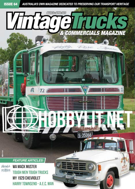 Vintage Trucks & Commercials - March-April 2021