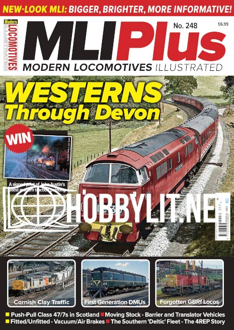 Modern Locomotives Illustrated Plus - April-May 2021