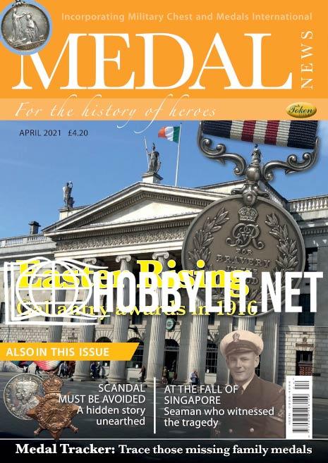 Medal News – April 2021