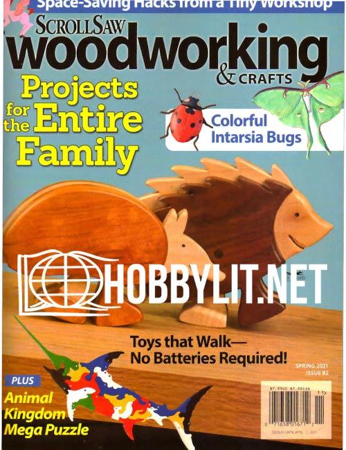 ScrollSaw Woodworking & Crafts - Spring 2021