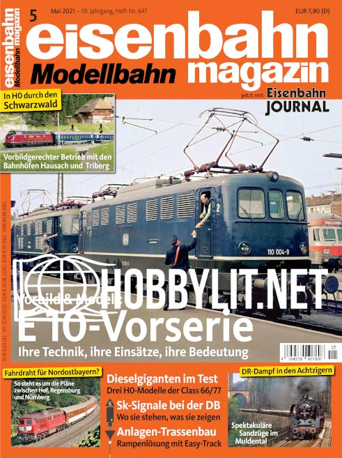 Eisenbahn Magazin – Mai 2021