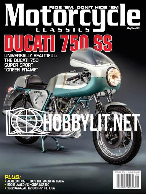 Motorcycle Classics Magazine May June 2021