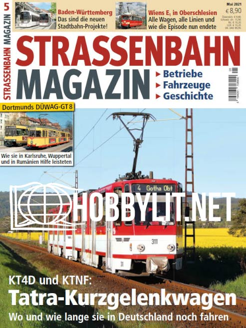 Strassenbahn Magazin - Mai 2021