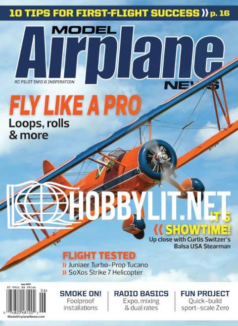 Model Airplane News - June 2021 (Vol.150 No.6)