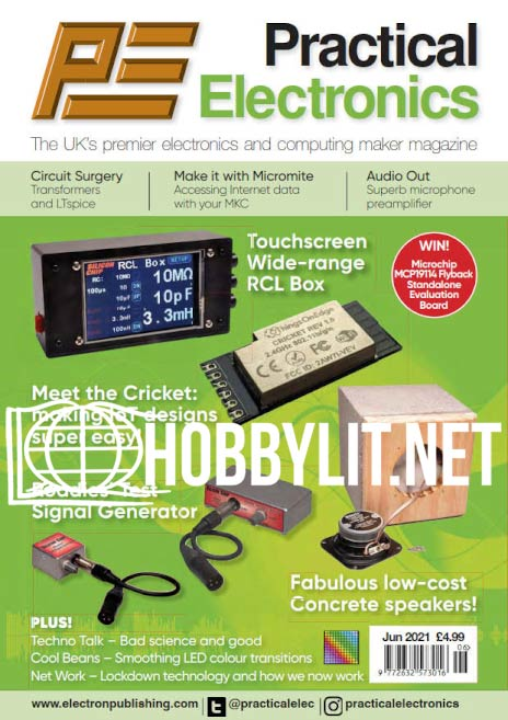 Practical Electronics - June 2021 (Vol.50 No.6)