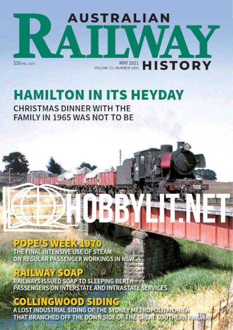 Australian Railway History - May 2021 (Vol.72 No.1003)