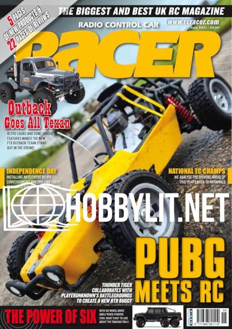 Radio Control Car Racer - June 2021 (Vol.24 Nu.8)