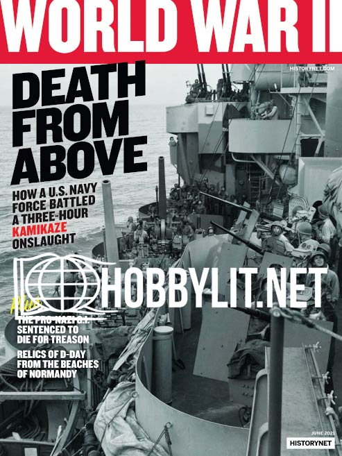 World War II Magazine - June 2021 (Vol.36 No.1)