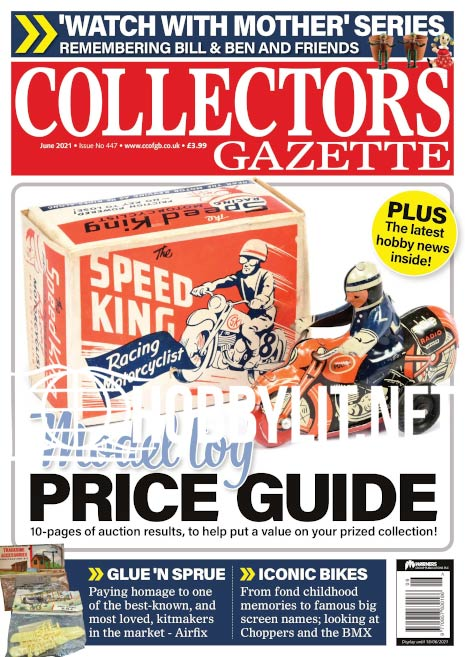 Collectors Gazette – June 2021 (Iss.447)