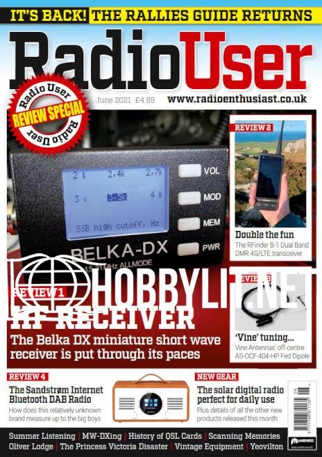 Radio User - June 2021 (Vol.16 No.6)
