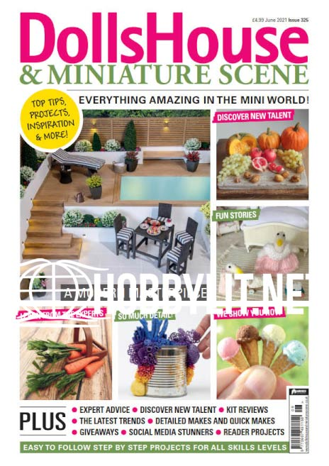 Dolls House & Miniature Scene - June 2021 (Iss.325)