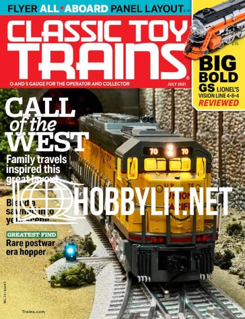 Classic Toy Trains - July 2021 (Vol.34 No.5)