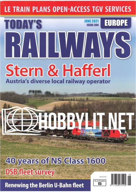 Today's Railways Europe - June 2021 (Iss.304)